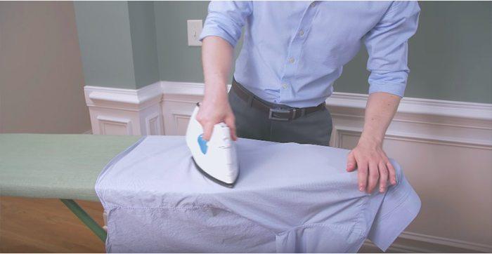 Como passar sua camisa - Garbo